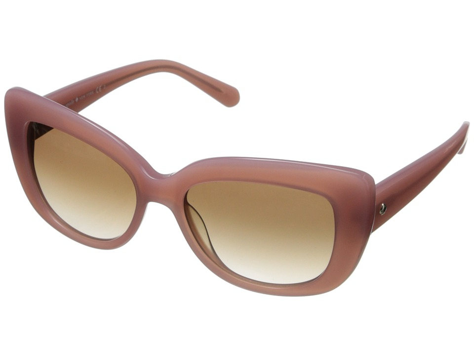 Kate Spade New York - Ursula (Rose Jade/Brown Gradient) Fashion Sunglasses