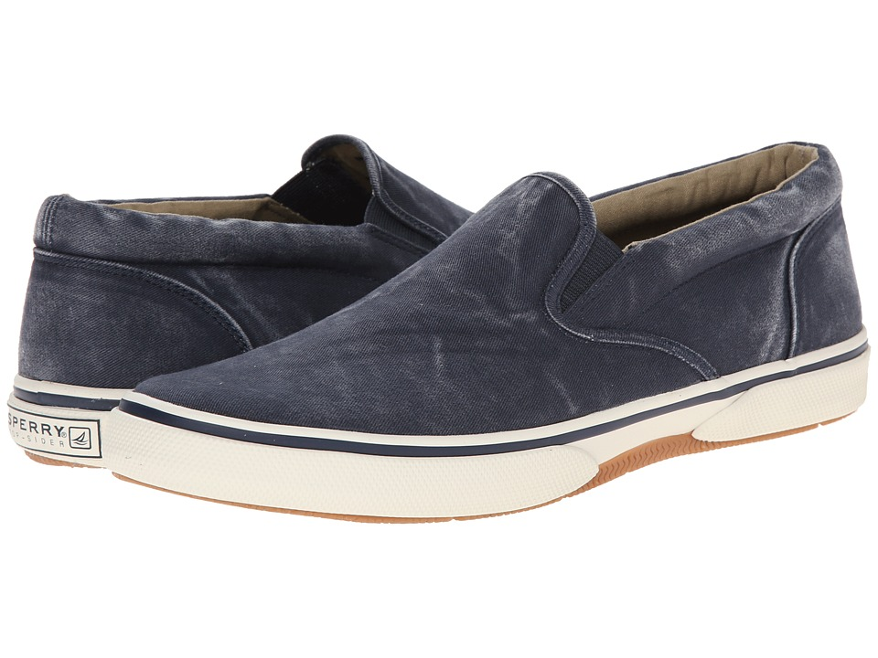 Sperry Top-Sider - Halyard Twin Gore Slip On (Navy) Men