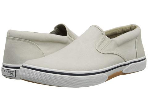 Sperry Top-Sider - Halyard Twin Gore Slip On (Oyster) Men