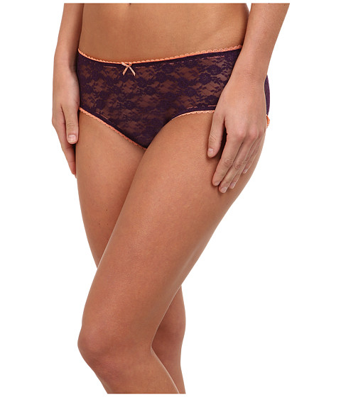 BCBGeneration - The How You Doing Hipster (Purple Pennant) Women's Underwear