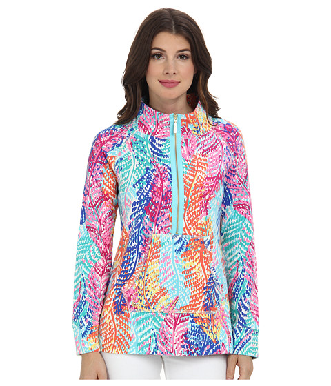 df92bc29a542fd ... UPC 630306582834 product image for Lilly Pulitzer Skipper Popover  Printed (Cameo White Electric Feel)