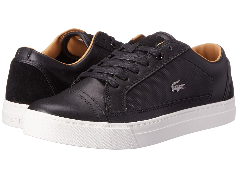 Lacoste - Bowerey (Black) Men's Shoes