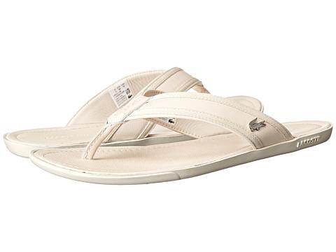 Lacoste - Carros 6 (Off White) Men's Shoes