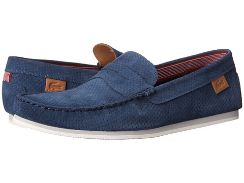 Lacoste - Chanler 4 (Dark Blue) Men's Shoes