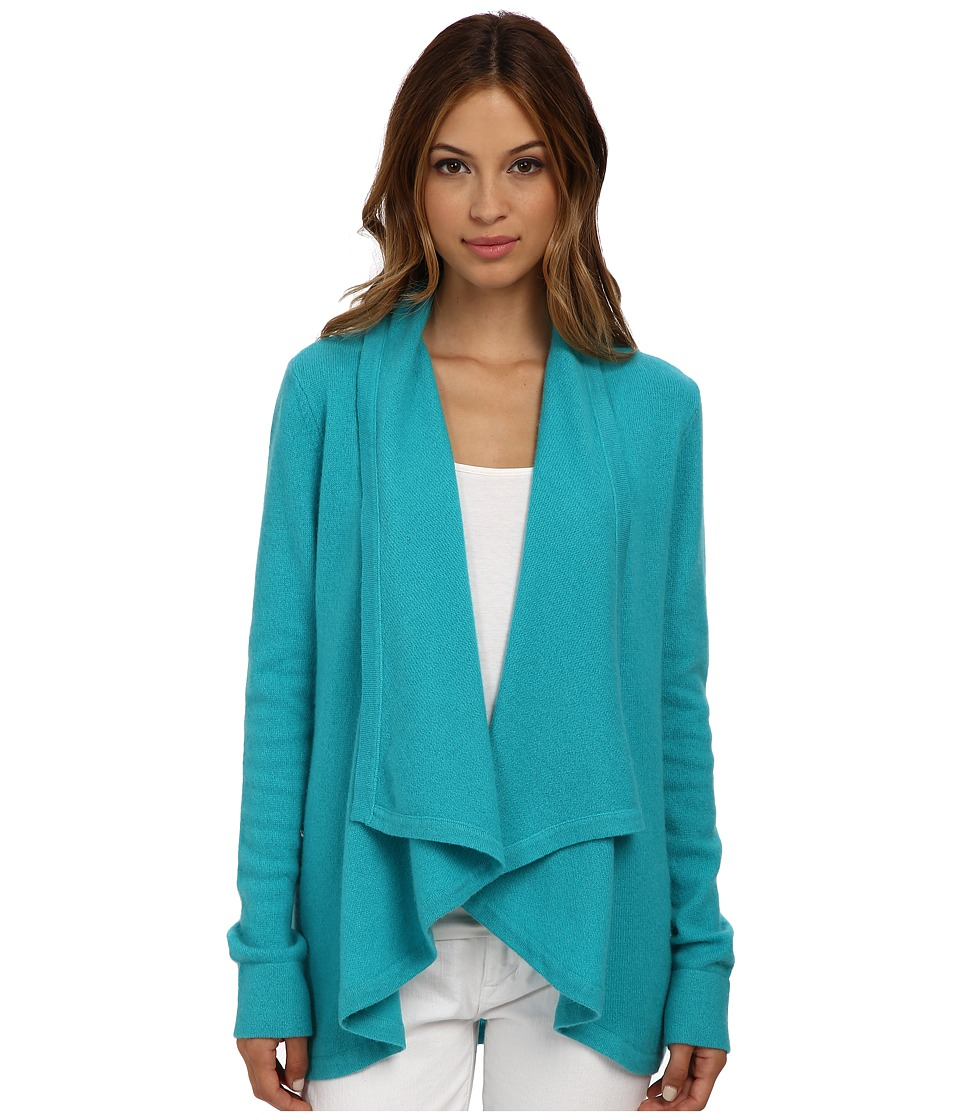 Lilly Pulitzer - Celine Cashmere Cardigan (Tropez Blue) Women's Sweater