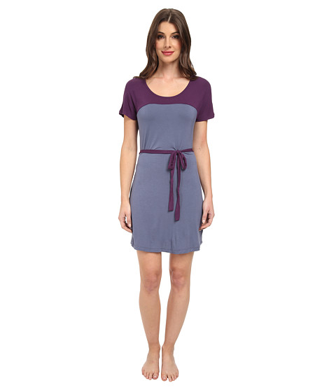 BCBGeneration - Stella The Not So Secret Sleep Dress (Moonshadow) Women