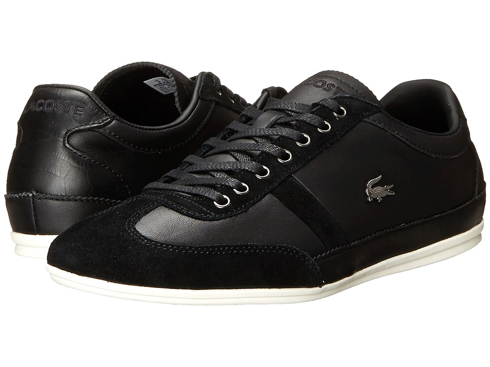 8850ee149e490d ... UPC 887255799725 product image for Lacoste - Misano 33 (Black) Men s  Shoes