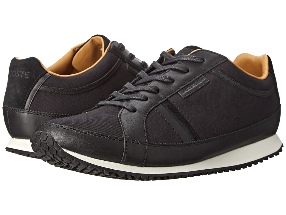 Lacoste - Mortain 3 (Black) Men's Shoes