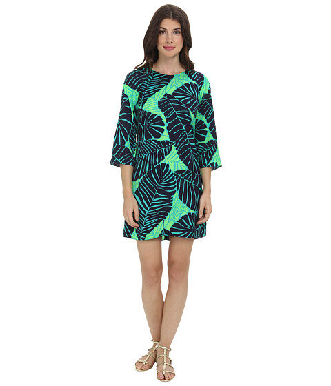 Lilly Pulitzer - Carol Shift Dress (New Green Under The Palms) Women's Dress