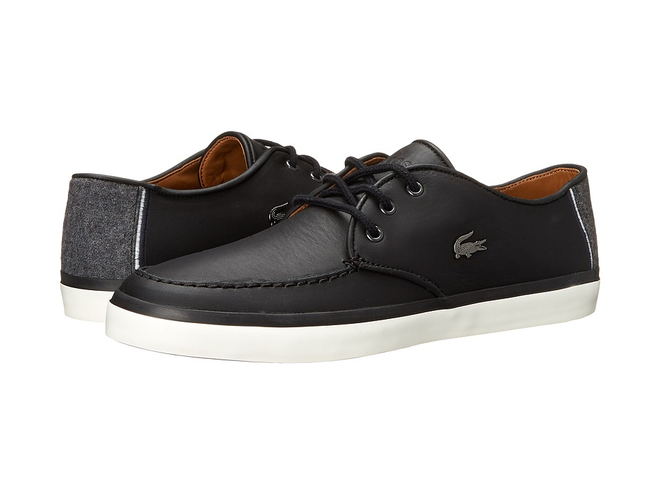 Lacoste - Sevrin LCR (Black) Men's Shoes