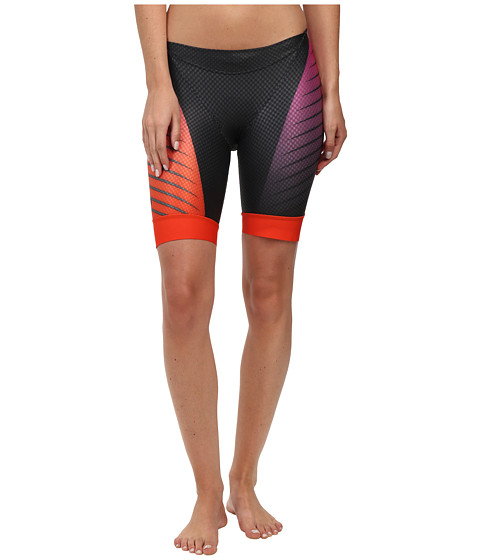 Pearl Izumi - W P.R.O. In-R-Cool Tri Short (Black/Hot Pink) Women's Workout