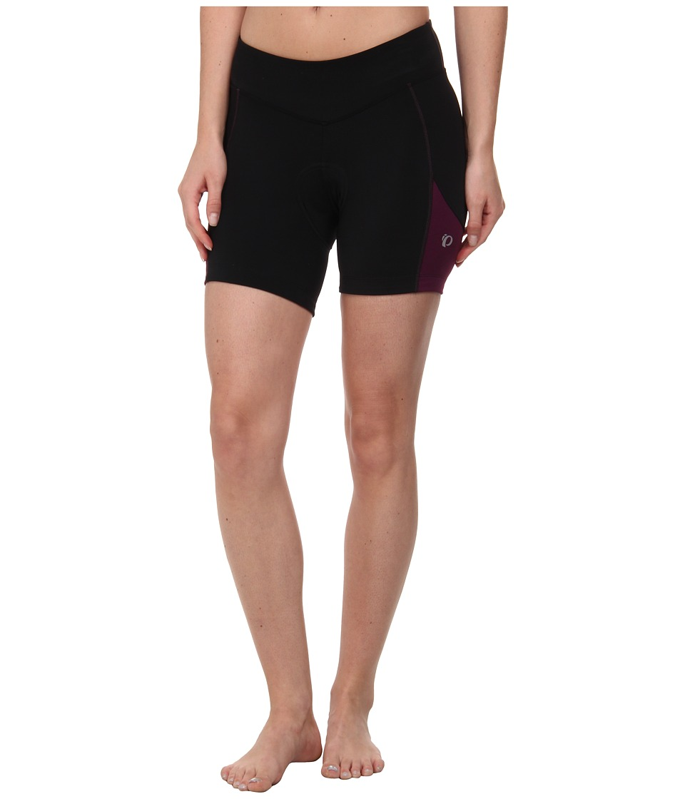 Pearl Izumi - W Sugar Short (Black/Dark Purple) Women's Shorts