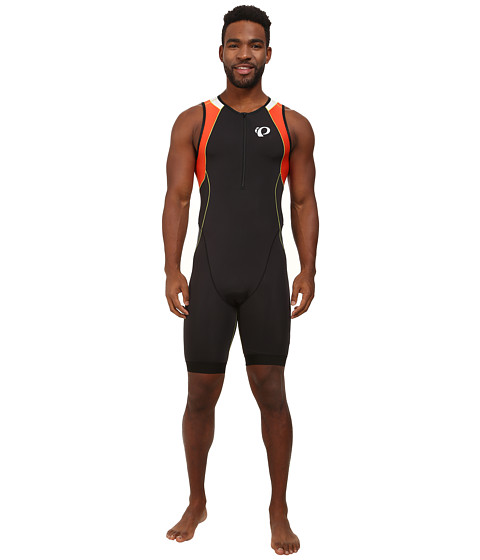 Pearl Izumi - ELITE In-R-Cool Tri Suit (Black/Mandarin Red) Men