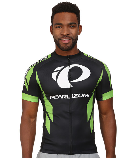Pearl Izumi - Elite LTD Jersey 2 (Green Flash) Men's Clothing
