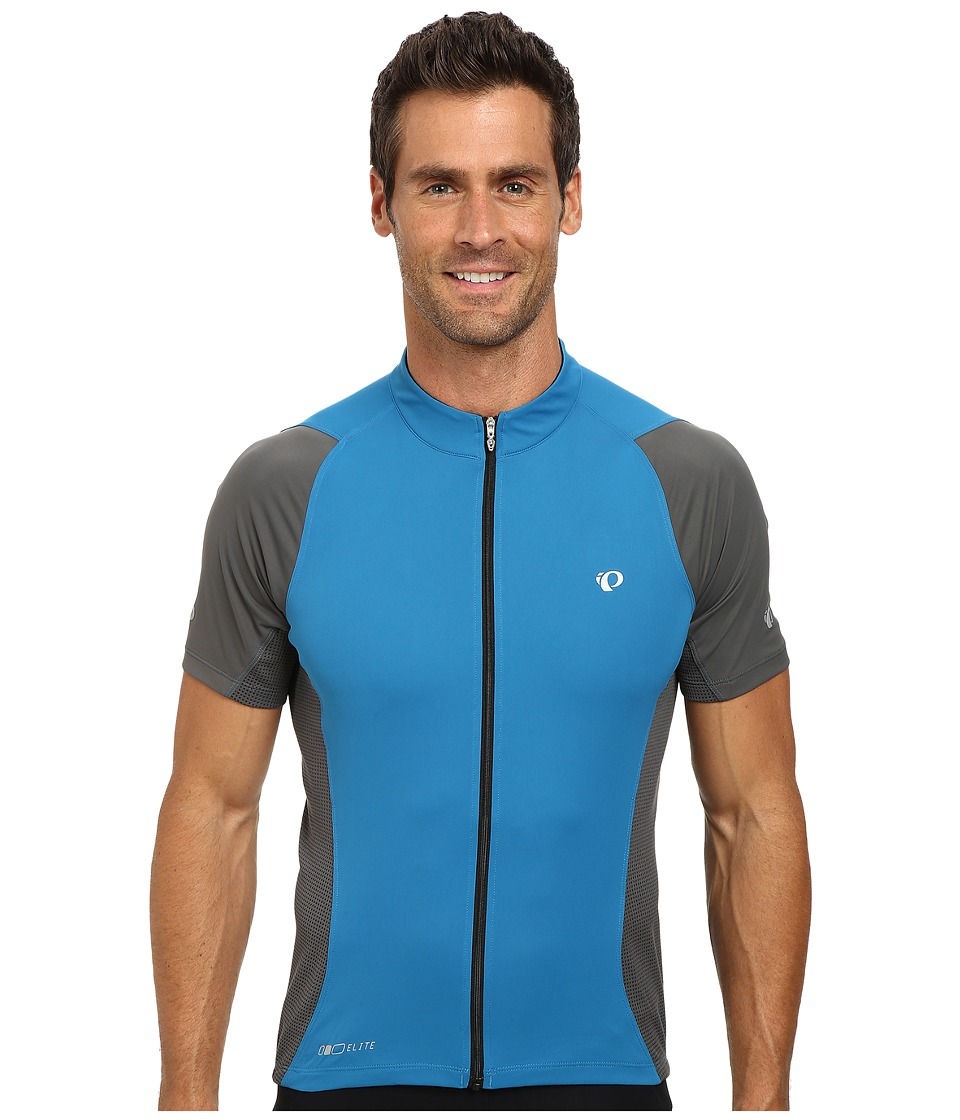 Pearl Izumi - ELITE Semi-Form Jersey (Mykonos/Shadow Grey) Men's Workout