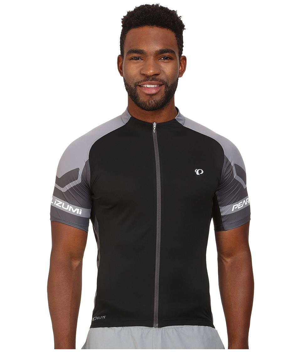 Pearl Izumi - ELITE Jersey (Black/Shadow Grey) Men's Workout