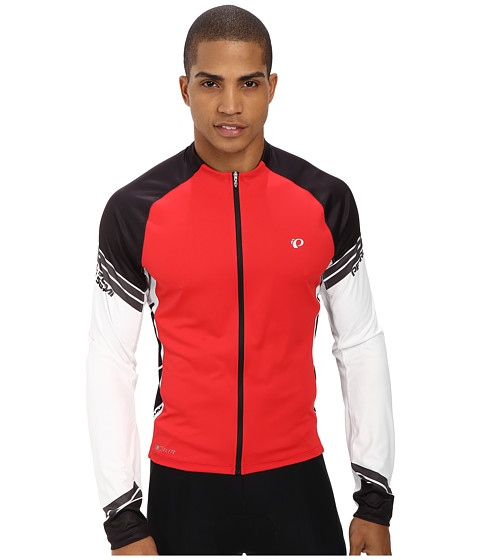 Pearl Izumi - ELITE L/S Jersey (True Red/Black) Men's Workout
