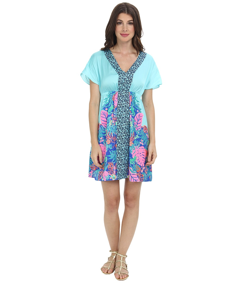 Lilly Pulitzer - Meg Dress (Shorely Blue Islamorada) Women's Dress