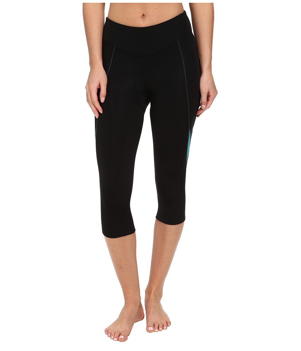 Pearl Izumi - Sugar 3QTR Cycling Tight (Black/Deep Lake) Women's Workout