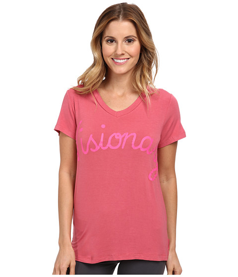BCBGeneration - The Slouchy T-Shirt (Baroque Rose) Women