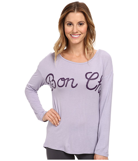 BCBGeneration - Scout Live On The Edge Of Your Seat L/S Shirt (Lavender) Women's Pajama