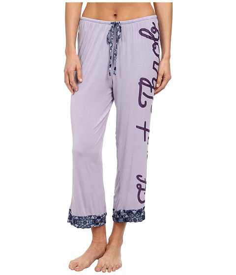 BCBGeneration - The Crush Capri Pant (Lavender) Women