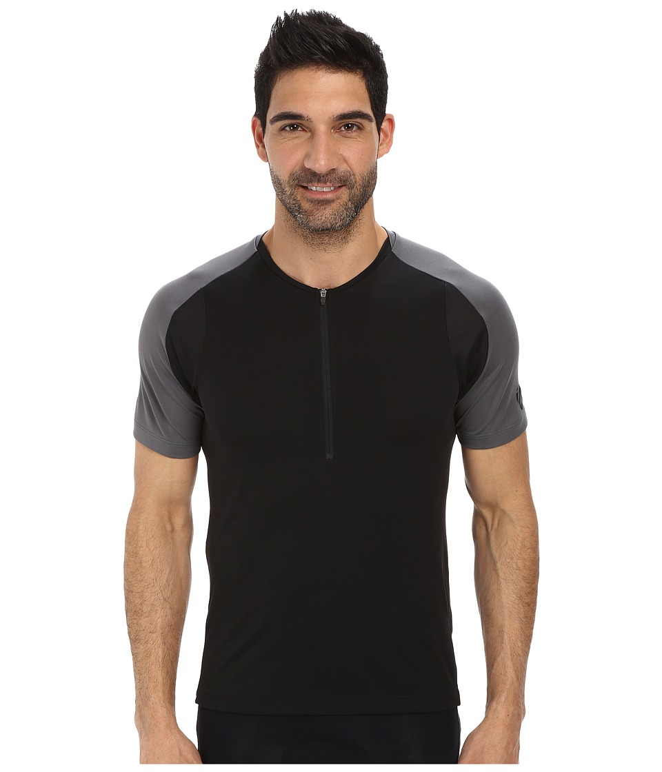 Pearl Izumi - Divide Jersey (Black) Men's Clothing