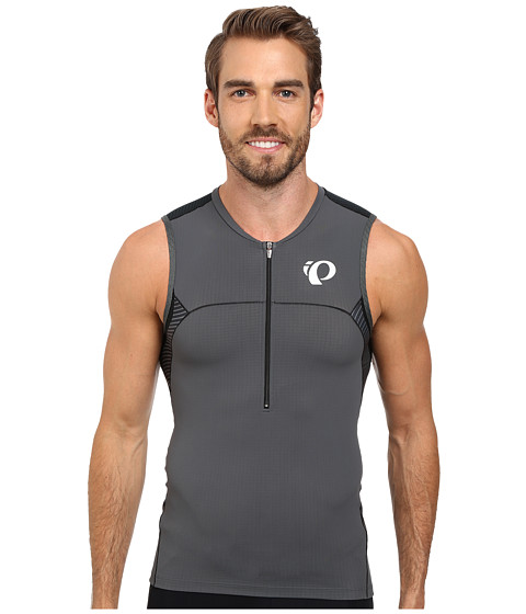 Pearl Izumi - ELITE In-R-Cool Tri S/L Jersey (Shadow Grey/Black) Men