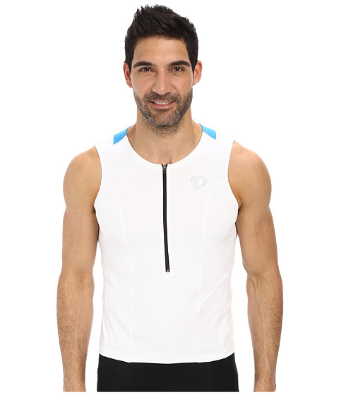 Pearl Izumi - SELECT Tri Relaxed SL Jersey (White/Brilliant Blue) Men