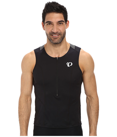 Pearl Izumi - SELECT Tri Relaxed SL Jersey (Black) Men's Sleeveless