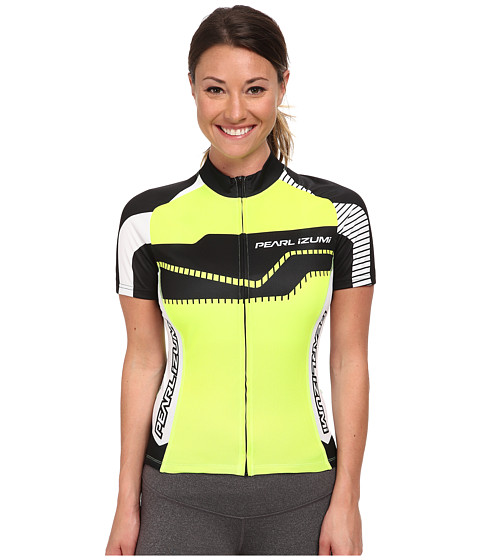 Pearl Izumi - W ELITE LTD Jersey (Build: Screaming Yellow) Women's Workout