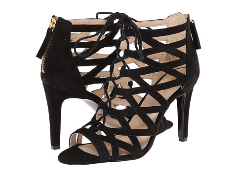 Nine West - Authority (Black Suede) High Heels