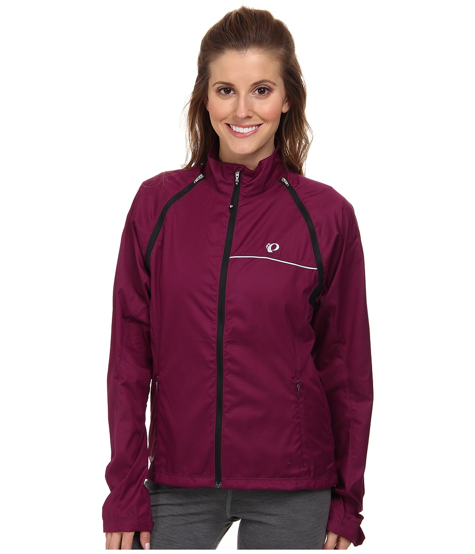 Pearl Izumi - W ELITE Barrier Convertible Cycling Jacket (Dark Purple) Women's Coat