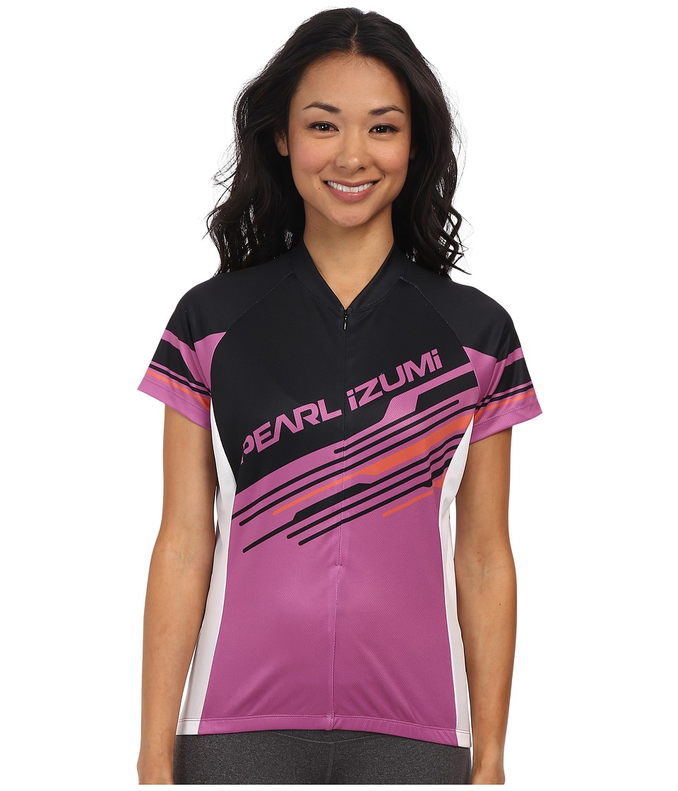 Pearl Izumi - Select LTD SS Jersey (Cross Line Meadow Mauve) Women's Workout