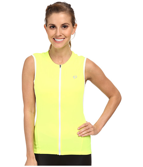 Pearl Izumi - Select S/L Jersey (Screaming Yellow) Women's Sleeveless