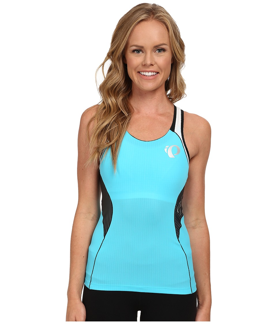 Pearl Izumi - Elite Inrcool Tri Singlet (Blue Atoll) Women's Sleeveless