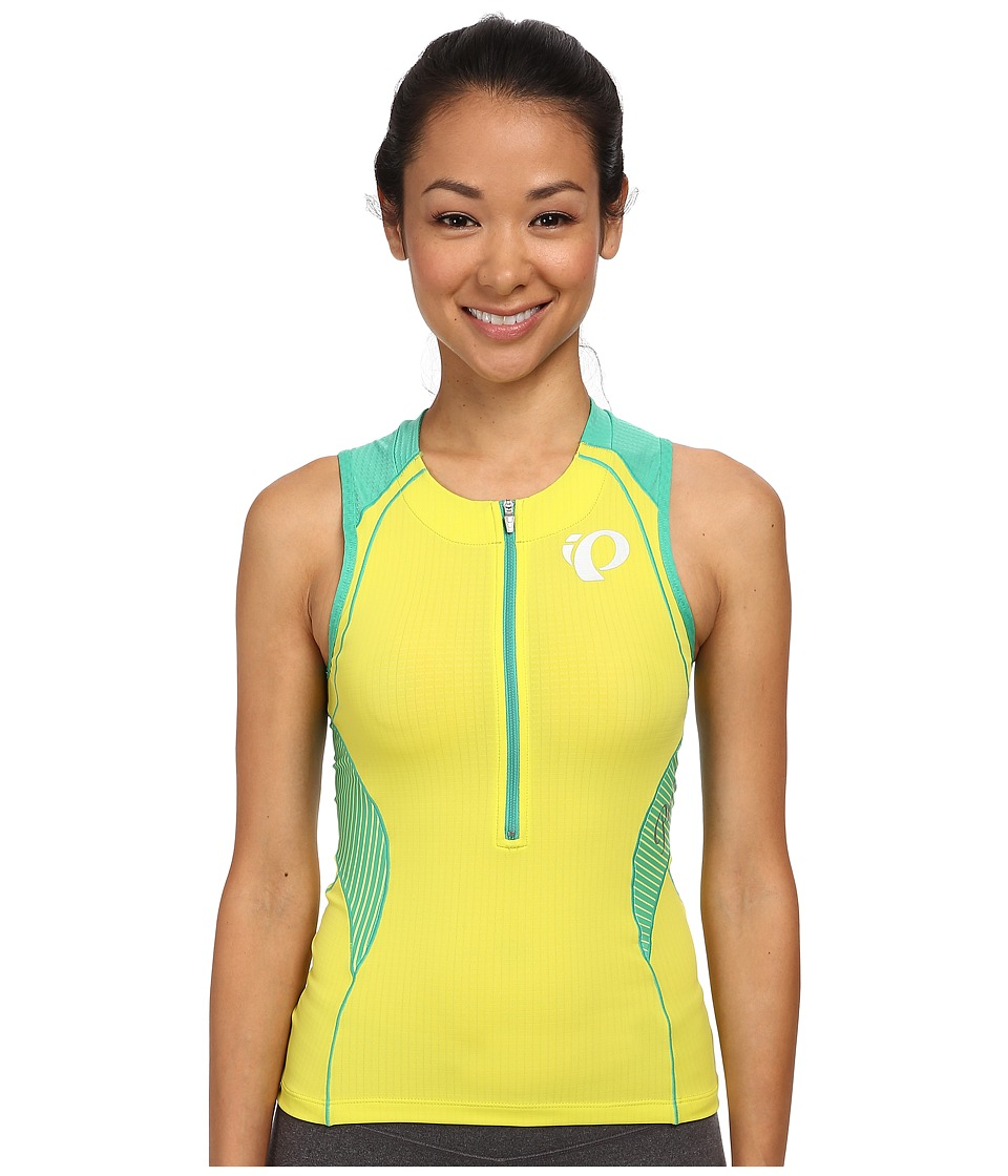Pearl Izumi - W ELITE In-R-Cool Tri S/L Jersey (Sulphur Springs) Women's Sleeveless