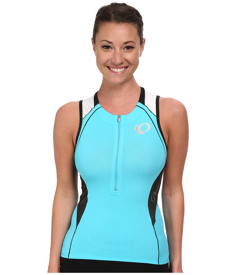 Pearl Izumi - W ELITE In-R-Cool Tri S/L Jersey (Blue Atoll) Women's Sleeveless