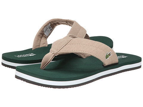 Lacoste - Randle TBR (Natuarl/Dark Green) Men's Shoes