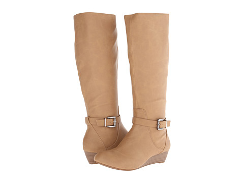 Jessica Simpson - Becki Boot (Light Almond Classic Grain) Women