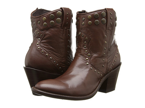 Stetson - JBS Handmade 7 Studded Round Toe (Whiskey) Cowboy Boots