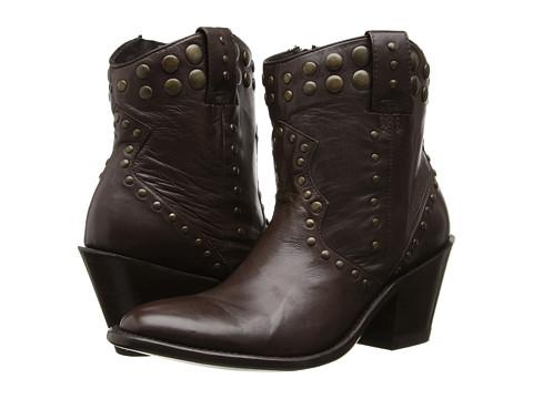 Stetson - JBS Handmade 7 Studded Round Toe (Chocolate) Cowboy Boots