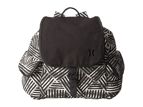 Hurley - Tomboy Napsack (White Basket Weave) Backpack Bags