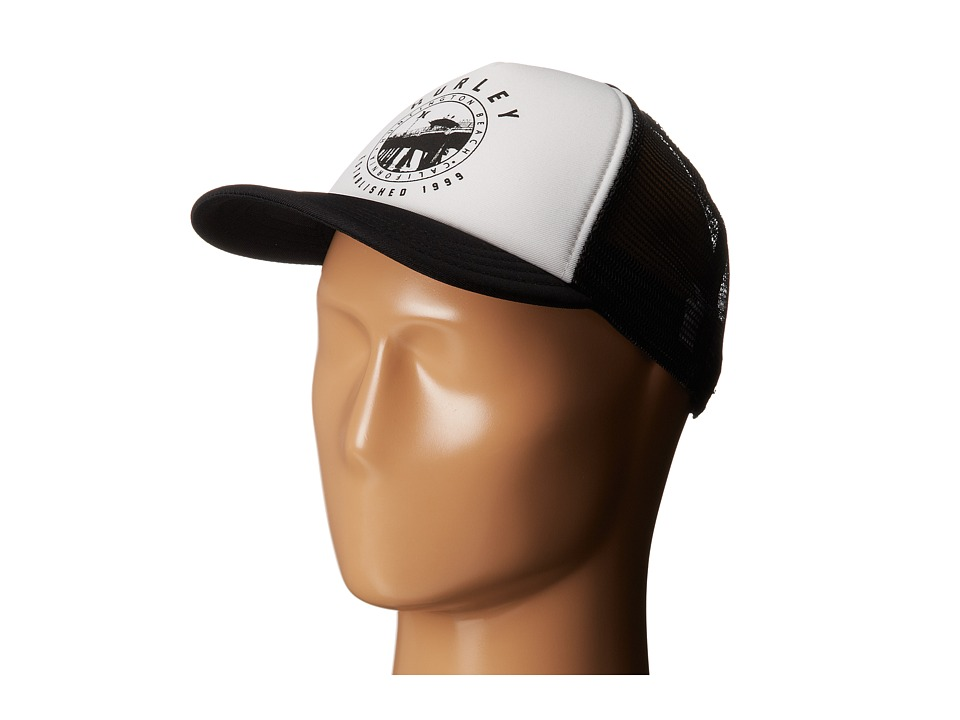 Hurley - Destination Trucker Hat (White) Caps