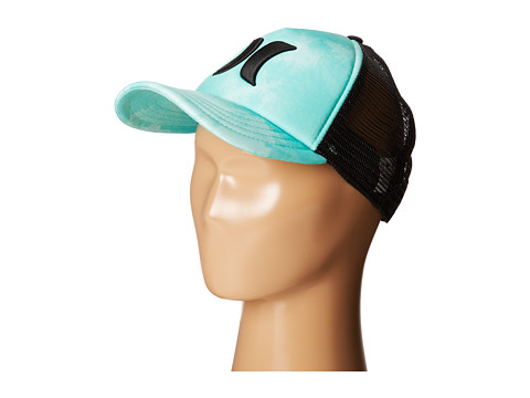 Hurley - One Only Trucker Hat (Menta Cloud Wash) Caps