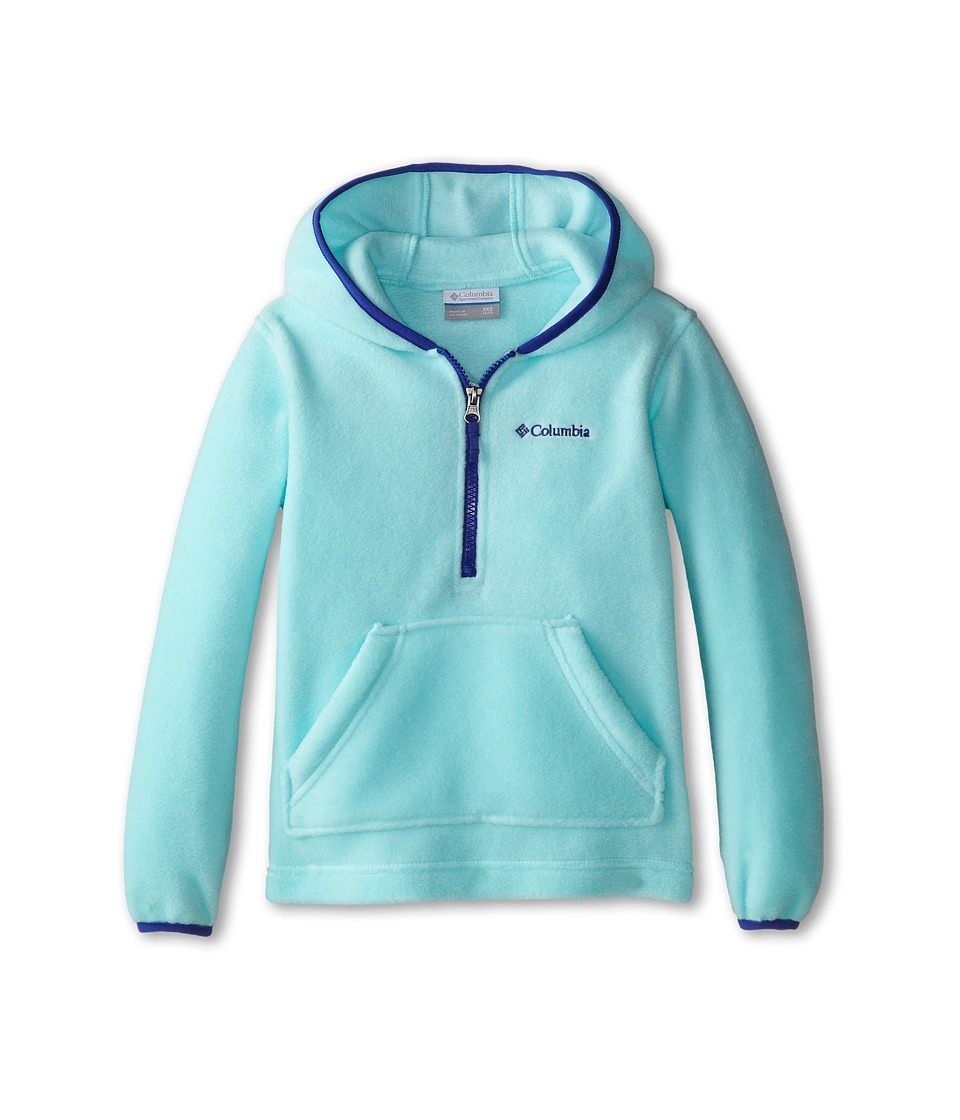 Columbia Kids - Elm Lake Fleece Hoodie (Little Kids/Big Kids) (Candy Mint/Light Grape) Girl