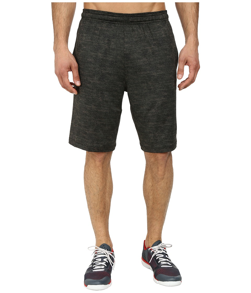 adidas - Team Issue Fitted Short (Base Green Heather/Black) Men's Shorts