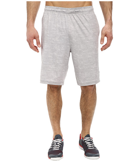 adidas - Team Issue Fitted Short (Pearl Grey Heather/Black) Men