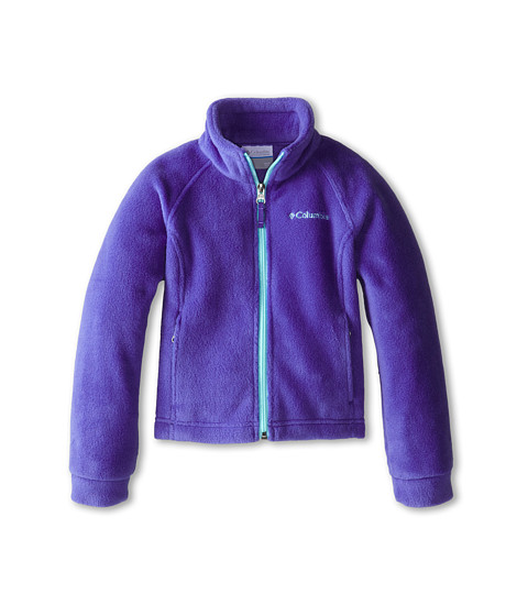 Columbia Kids - Benton Springs Fleece (Little Kids/Big Kids) (Light Grape/Candy Mint) Girl