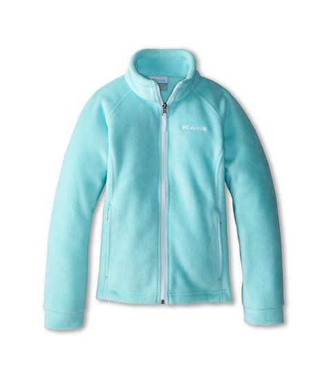 Columbia Kids - Benton Springs Fleece (Little Kids/Big Kids) (Candy Mint/White) Girl